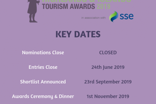 Highlands & Islands Tourism Awards 2019